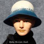 hand made felt hat, Wide Brim Hat