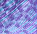 close up of woven scarf